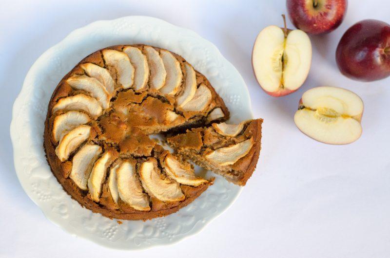 Torta di mele light   vegan
